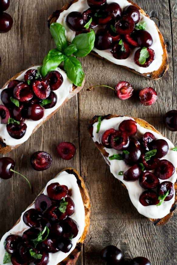 whipped-ricotta-and-cherry-crostini-600x900-3-inside-the-rustic-kitchen